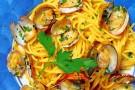 Spaghetti a vongole